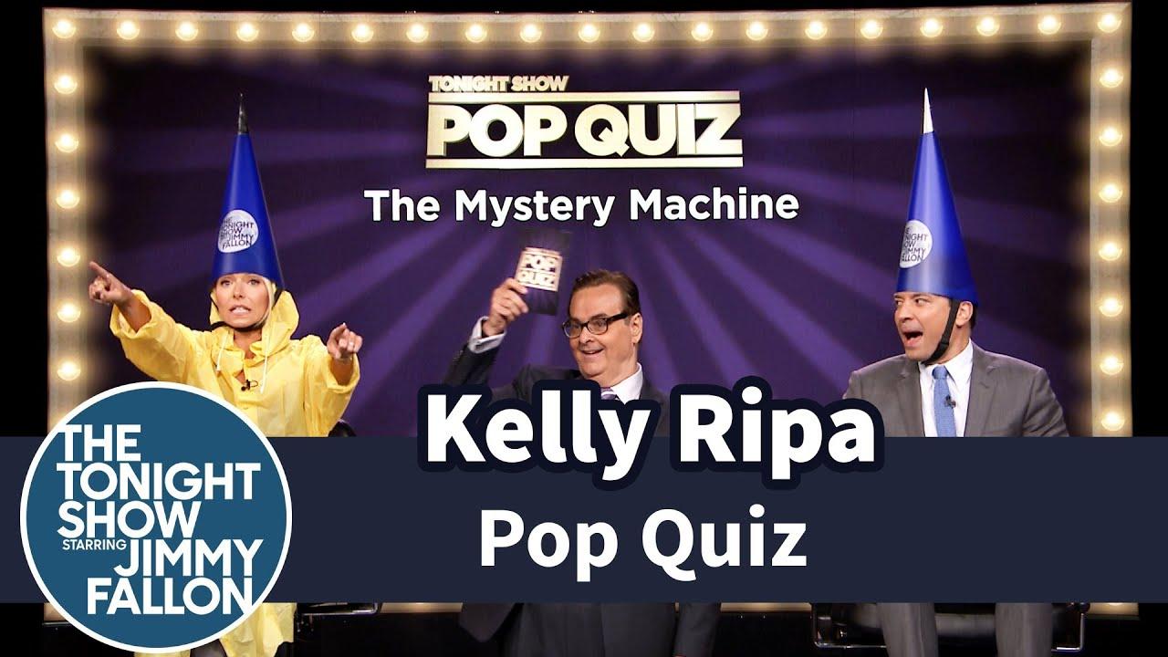 Pop Quiz with Kelly Ripa -- Part 1 - YouTube