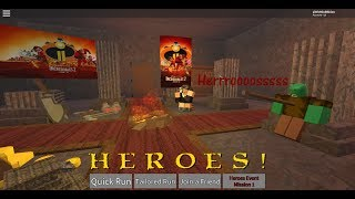 Playing Heros on ROBLOX! /w Alexia Luvs Toys