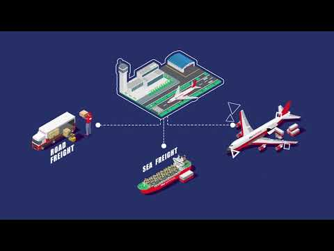 Multimodal Logistics Re-invented ! -- RSA National's Air Cargo Terminal In DWC