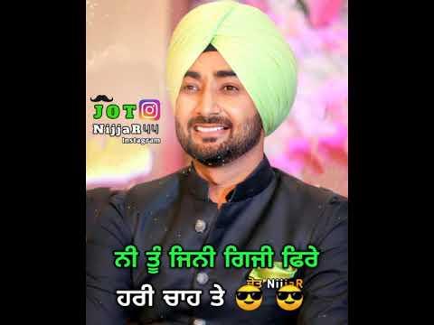Jean 2 Ranjit Bawa Whatsapp Status | Latest Punjabi Songs 2019 | Punjabi Whatsapp Status | Ditch