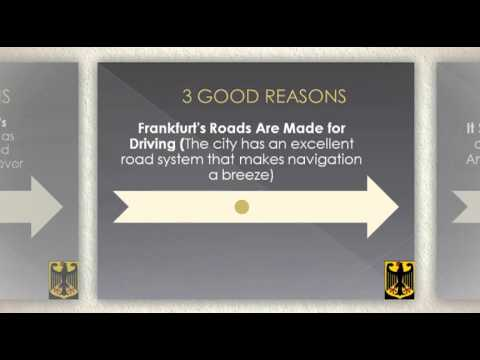 3 Good Reasons to Rent a Car in Frankfurt
