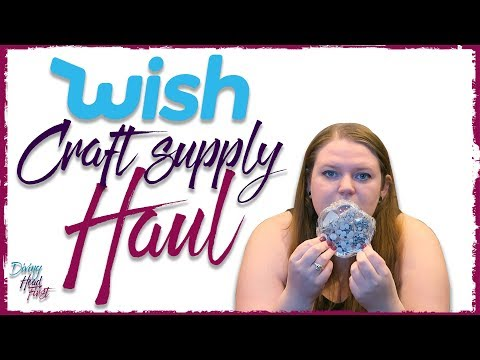 Wish Craft Supply Haul | Diving Head First