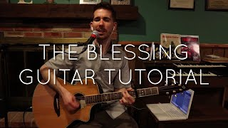 Elevation Worship - The Blessing Guitar Tutorial   Acoustic Guitar Play-Through