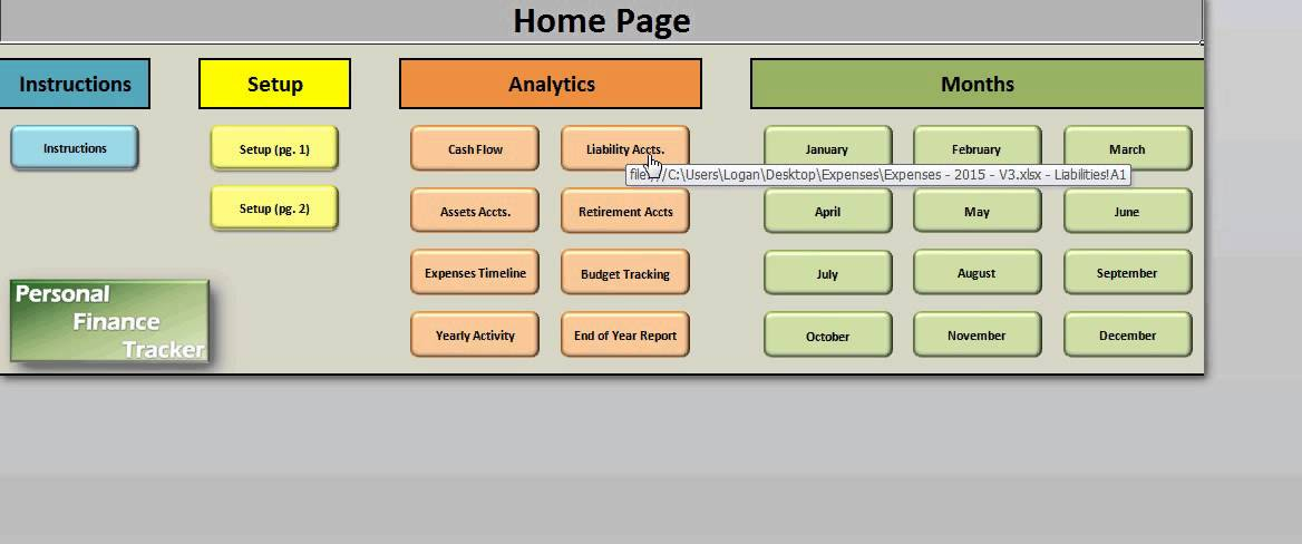 Personal Finance Tracker PRO - Tutorial - YouTube