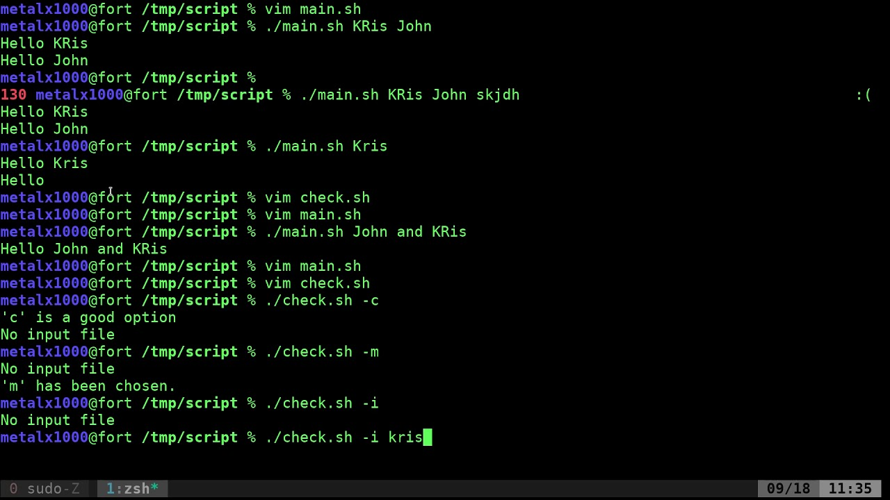 Bash getopts builtin command help and examples.