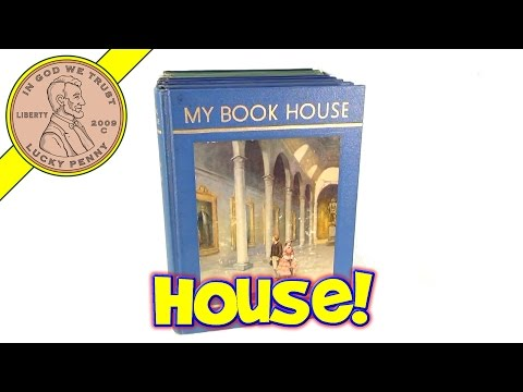 Vintage Collection of My Book House Children's Reading Books