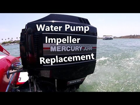 Mercury Outboard – Water Pump Impeller Replacement