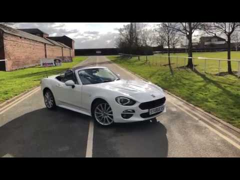 fiat 124 spider lusso plus at sturgess leicester youtube. Black Bedroom Furniture Sets. Home Design Ideas