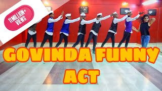 govinda funny act bollywood dance