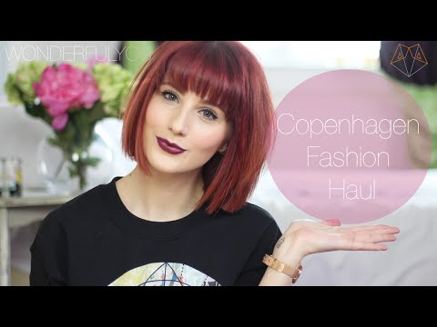 COPENHAGEN FASHION HAUL | Wonderful You