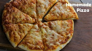 Homemade margarita PIZZA | Best tasty Store Bought Style Margarita Pizza | By Chef Adnan