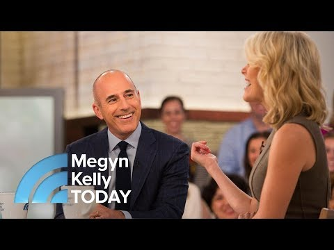 Matt Lauer On Emojis, Getting Bit By A Llama And First Meeting With Megyn Kelly | Megyn Kelly TODAY
