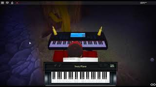 All I Want For Christmas Is You - Merry Christmas by: Mariah Carey on a ROBLOX piano.