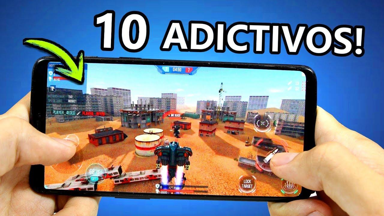 Top 10 Juegos Para Android Nuevos Y Gratis Youtube