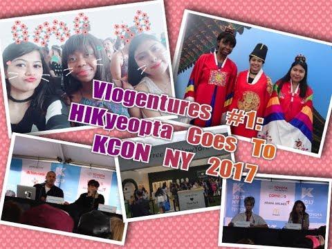 ✯ Vlogentures #1: HIKyeopta Goes To KCON NY 2017 ✯