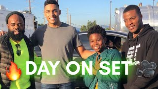VLOG #1: Day On Set Of ALL AMERICAN