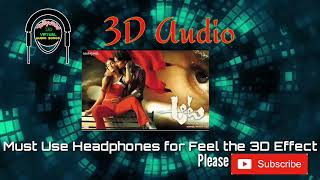Aata Title song 3d surrounding effect