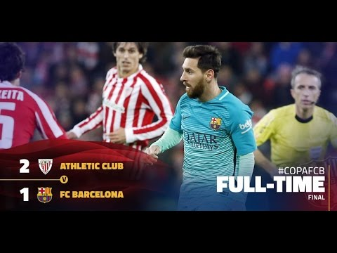 Athletic Bilbao vs Fc Barcelona 2-1 (Arabic Commentary) :(