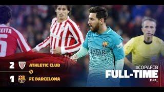 athletic bilbao vs fc barcelona 2 1 arabic commentary