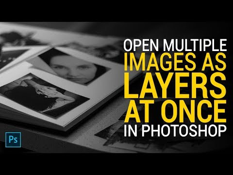 Photoshop Tutorial: How to Open Multiple Images At Once in Photoshop in Hindi. thumbnail