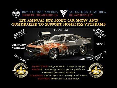 Troop 460 Boy Scout Car Show Ad