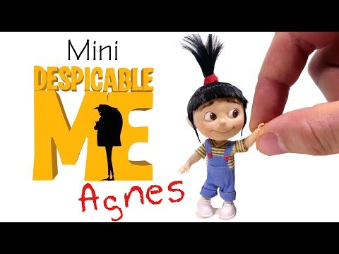 How To Agnes Inspired Miniature Doll // Despicable Me DIY