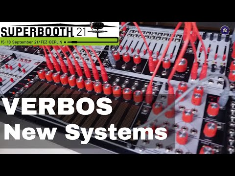 SUPERBOOTH 2021  Verbos Electronics - New Systems