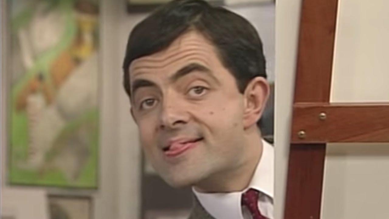 Mr Bean - Art Thief - YouTube
