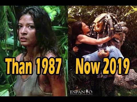 Predator (1987) Movie Cast   Then And Now (2019)