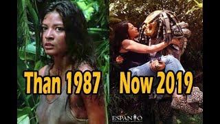 Predator (1987) Movie Cast | Then And Now (2019)