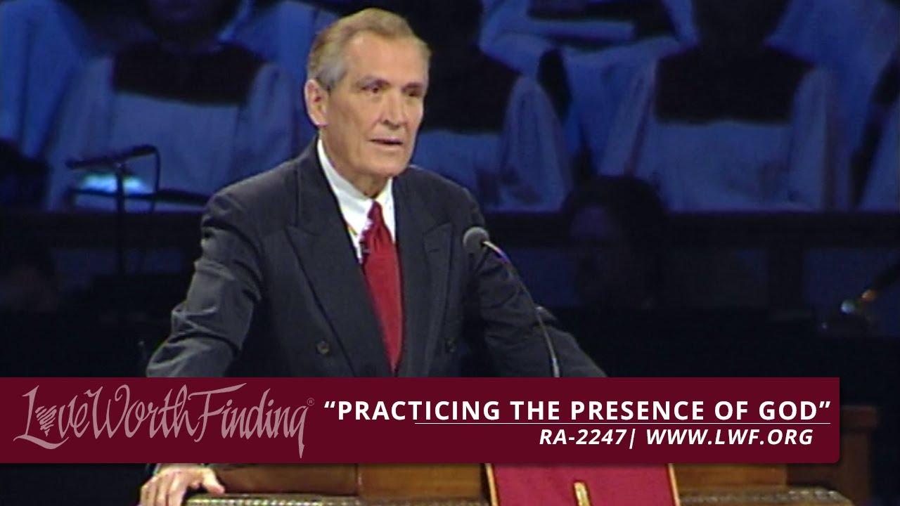 LWF Program  -  Practicing the Presence of God - RA2247
