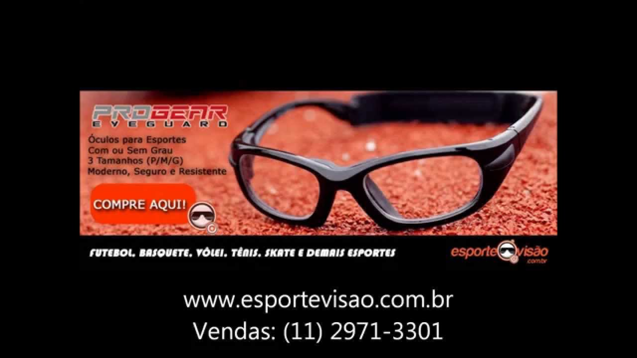 d65312d3e Óculos para futebol, Basquete, Vôlei, Tênis, com grau, adulto e infantil.  Ótica Esportiva