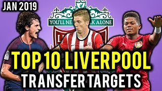 TRANSFER NEWS! TOP 10 Liverpool TRANSFER TARGETS January 2019 ft Ramsey, Rabiot, Bailey