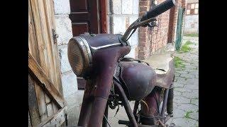 kolejny junak wraca do życia - motocykl ze stodoły :-)
