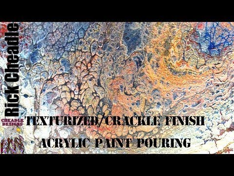 how to make acrylic paint crackle