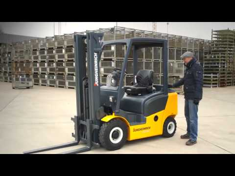 Autoelevadores Diesel. Jungheinrich. Kernium representante exclusivo en Argentina