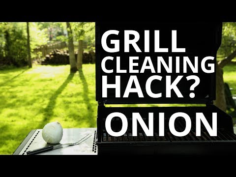 Sears Home Hacks Tested: Cleaning Grill Grates With an Onion?