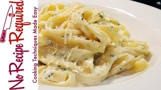 Fettucini (fettuccine) Alfredo Recipe - Noreciperequired.com