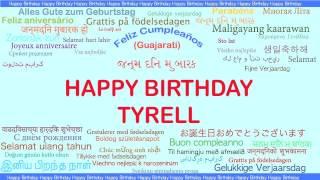 Tyrell   Languages Idiomas - Happy Birthday