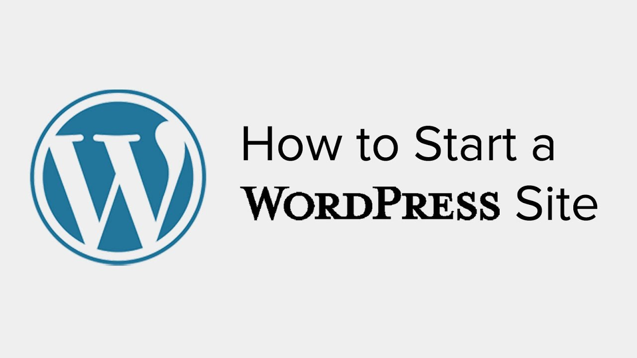 How To Start A Wordpress Site In Less Than 10 Minutes Step By Step