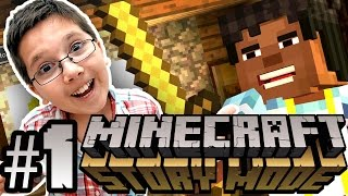 Minecraft: Story Mode - Telltale Games (With 9 Year Old Jacob) - Episode 1