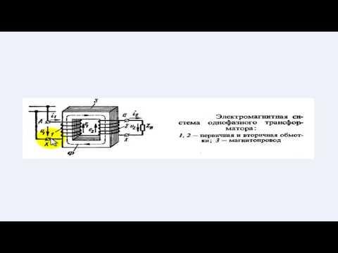 Устройство и принцип действия трансформатора