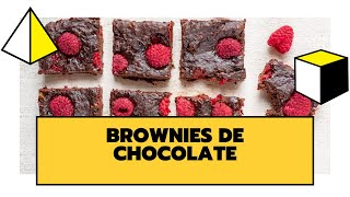 BROWNIES DE CHOCOLATE FIT | DELICIOSOS, SALUDABLES Y FÁCILES DE PREPARAR | THE COOKING LAB