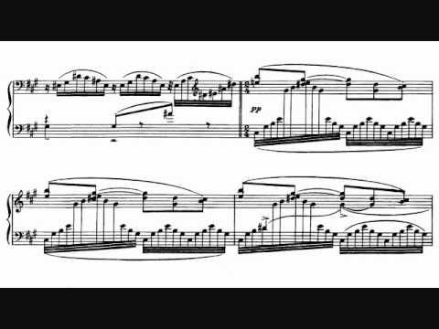 """Ravel - Miroirs No. 3, """"Une Barque sur l'Ocean"""" Sheet Music + Audio"""