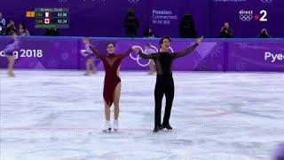 JO 2018 : Patinage artistique - Danse : Tessa Virtue et Scott Moir double-champions olympiques