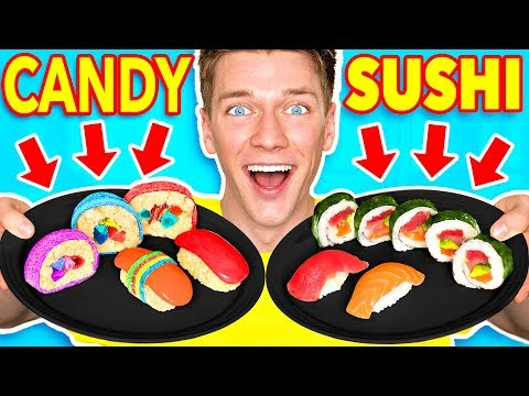 Making FOOD out of CANDY!! Learn How To Make DIY Edible Cand