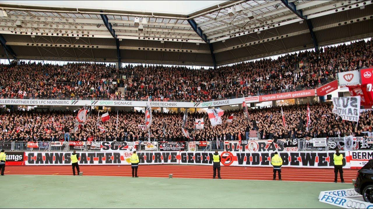 best website b75fd fa6fe 1. FC Nürnberg - VfB Stuttgart 18/19 Ultras Stuttgart Cannstatter Kurve TV