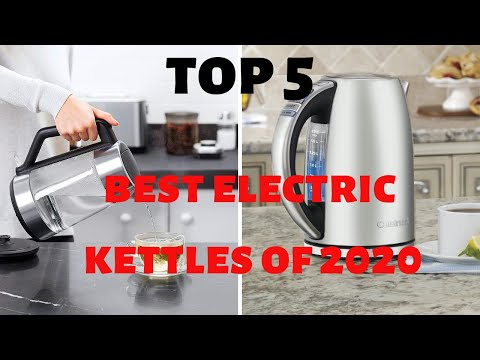 Best Electric Kettles Of 2020 | Top 5 Electric Kettles Of 2020