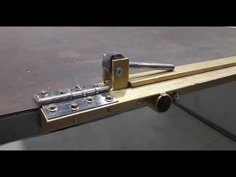 Homemade tool | How To Make Sheet Metal Bending Tool | Sheet Metal Brake