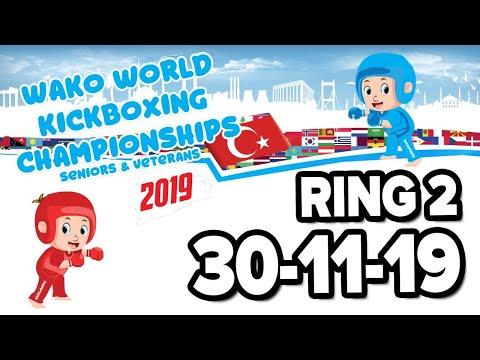 WAKO World Championships 2019 Ring 2 30/11/19 Finals